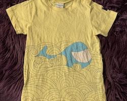 Två t-shirts med djurtryck från PoP stl 92