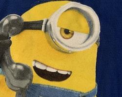 Blå t-shirt med Minioner stl 104