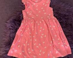 3 delat klänningpaket med tema fjärilar från HM stl 98/104