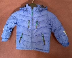 Mörkblå dunjacka från Skogstad stl 92