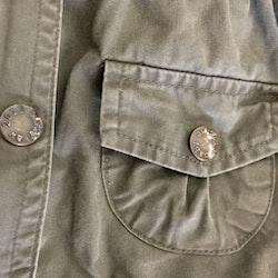 Khakigrön höstjacka från Lindex stl 74