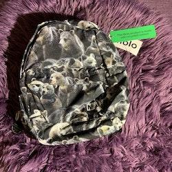 Björnmönstrad ryggsäck från Molo