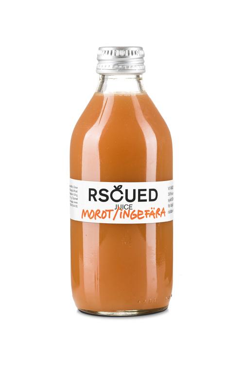 Räddad juice morot/ingefära