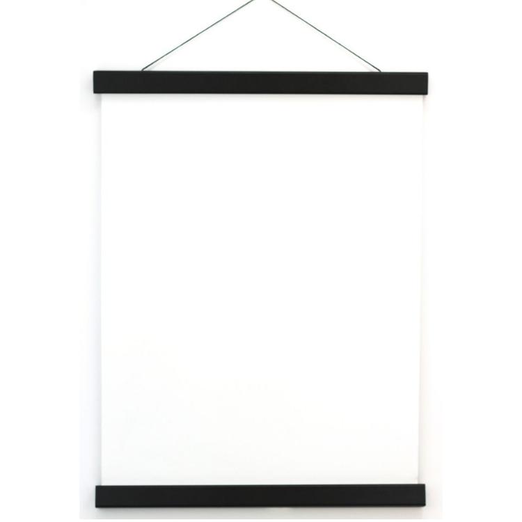 Posterhängare Svart 50 cm, Magnetfäste