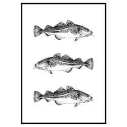 Tre Torskar Poster