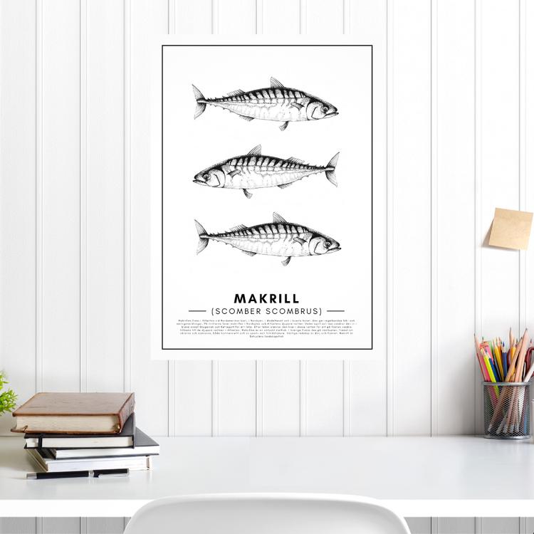 Makrill Poster