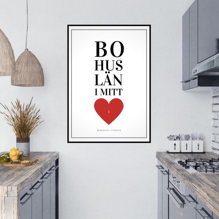 Bohuslän i Mitt Hjärta Poster