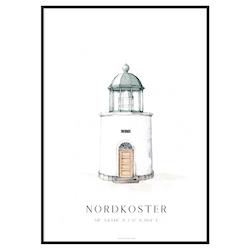 Nordkoster Fyr Poster