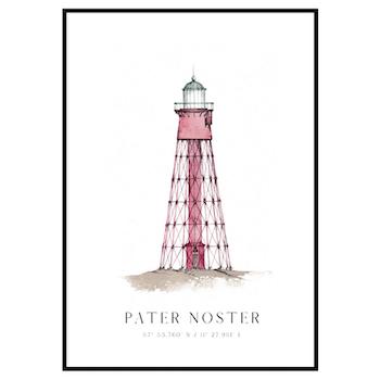 Pater Noster Fyr Poster