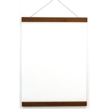 Posterhängare Valnöt 30 cm, Magnetfäste