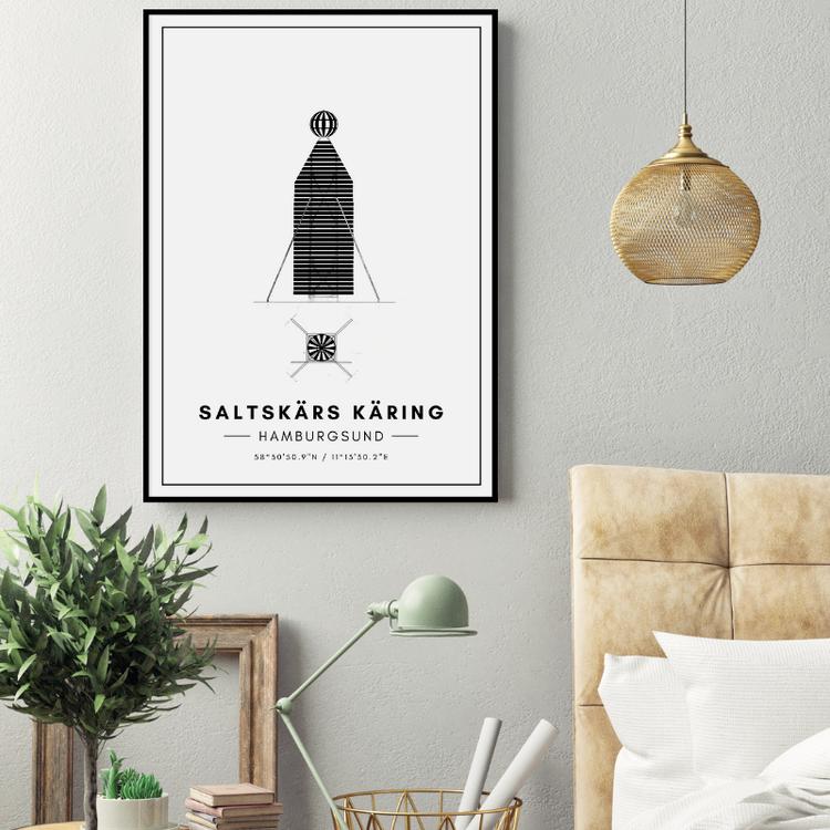 Saltskärs Käring Poster
