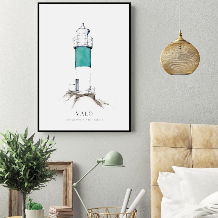 Valö Fyr Poster