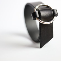 Armband Anna, smal med äkta silverring