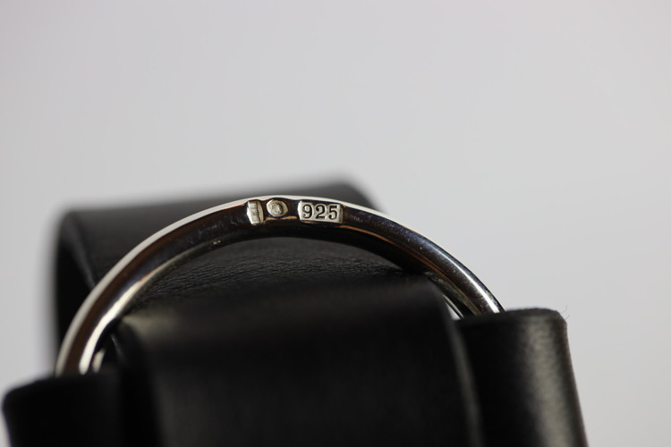 Armband Susan, bred med äkta silverring