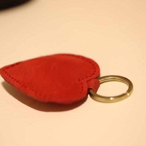 Hjärtevän röd mocka