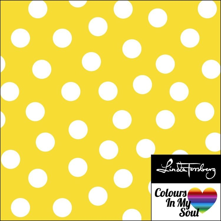 """Go Colorful """"Dots yellow"""""""