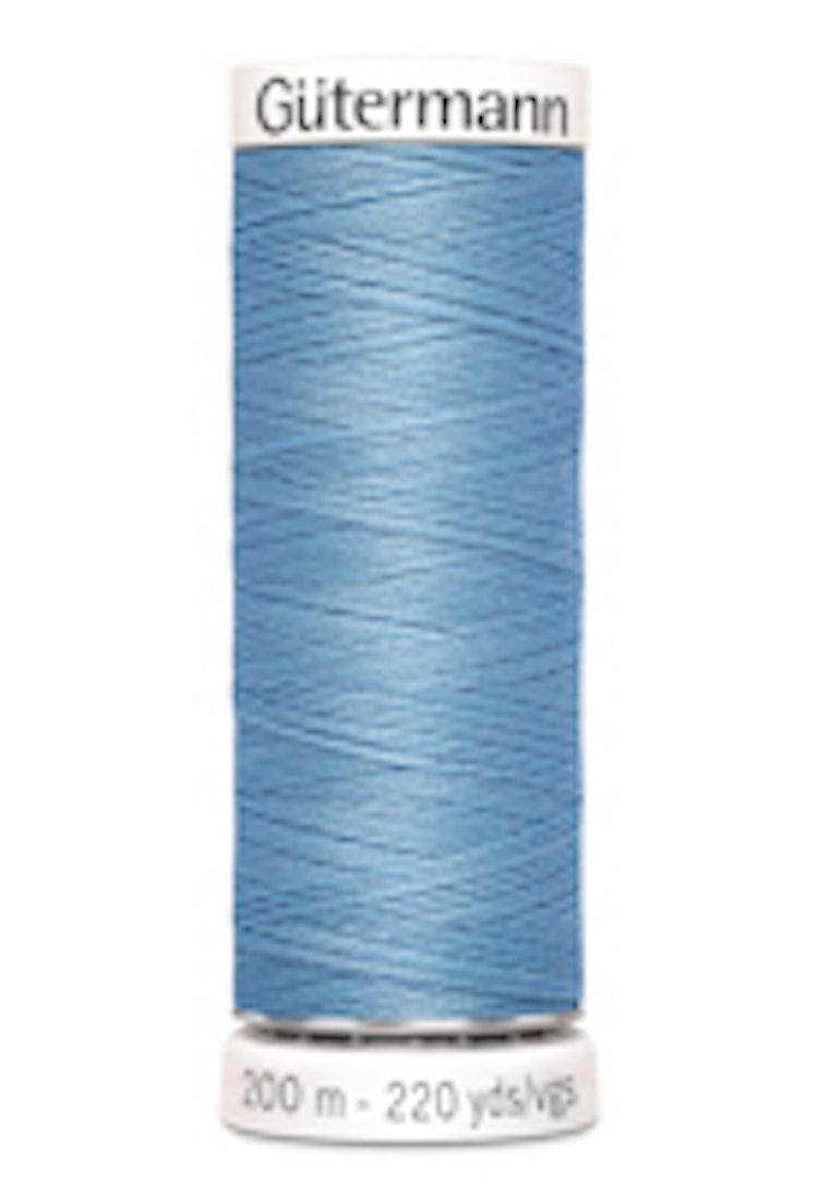 Gütermann sytråd 200 m 100% polyester 143 Ljusblå