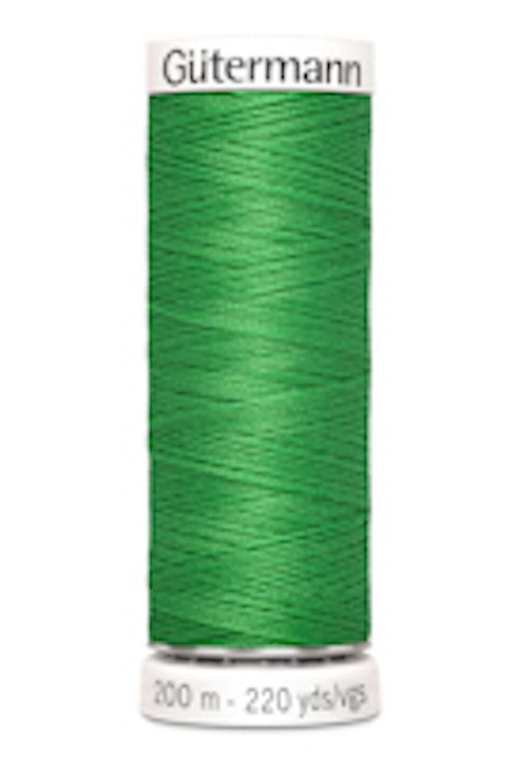 Gütermann sytråd 200 m 100% polyester 833 Grön