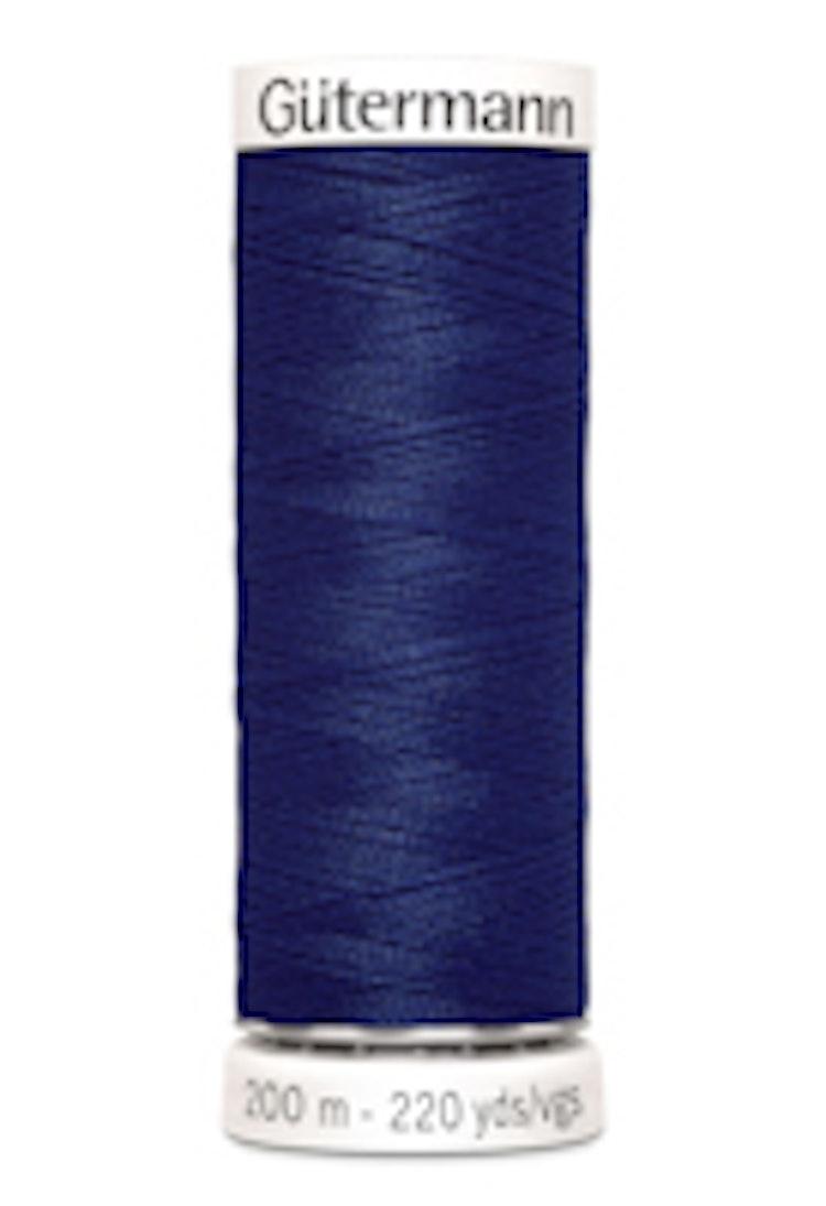 Gütermann sytråd 200 m 100% polyester 309 Blå
