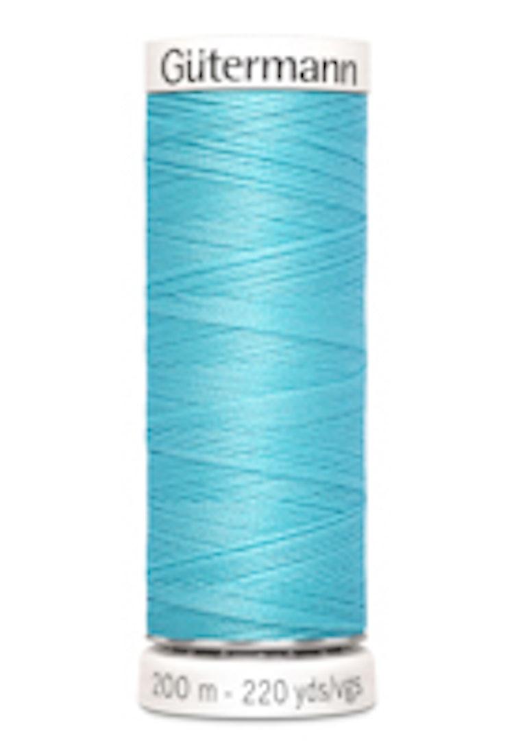 Gütermann sytråd 200 m 100% polyester 028 Ljusblå