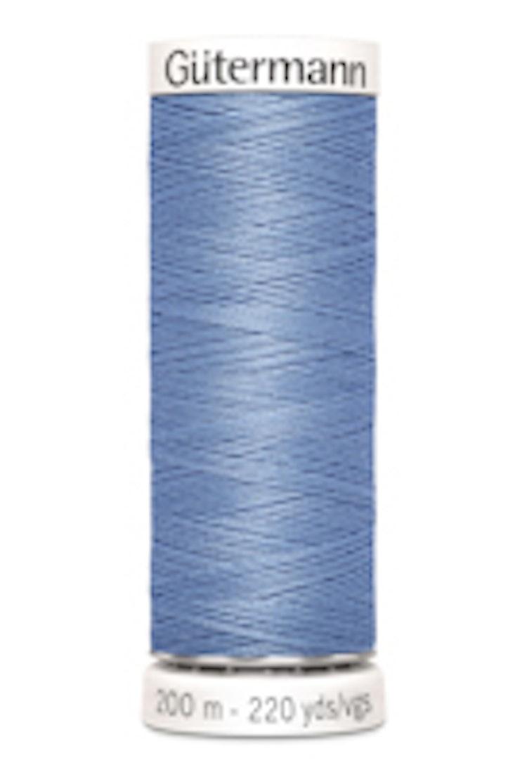 Gütermann sytråd 200 m 100% polyester 074 Blå