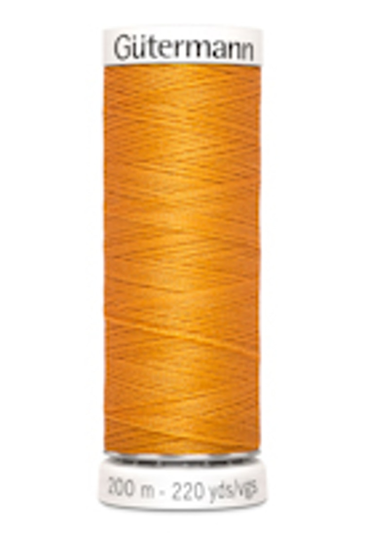 Gütermann sytråd 200 m 100% polyester 188 Orange