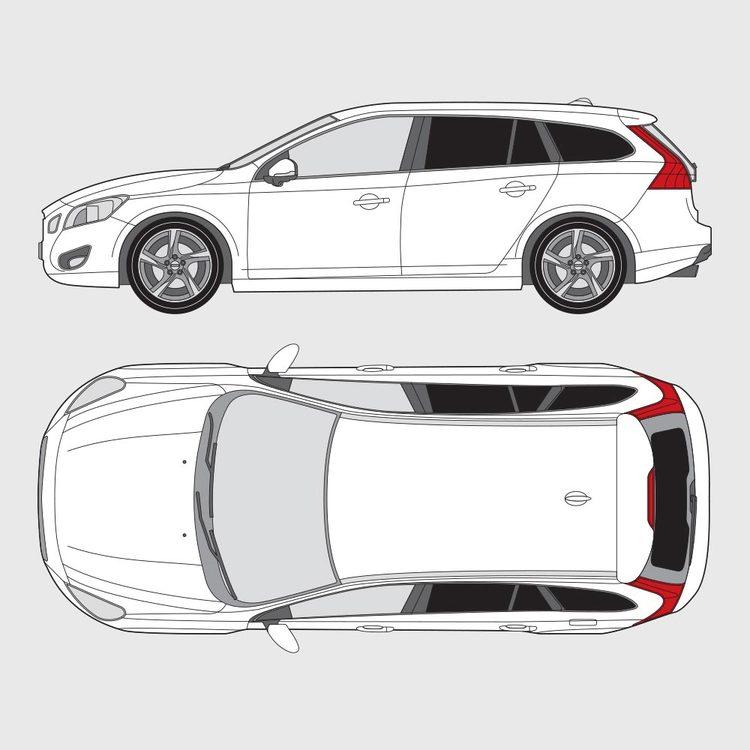 Volvo V60 2010-2018