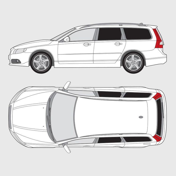 Volvo V70 2008-2018