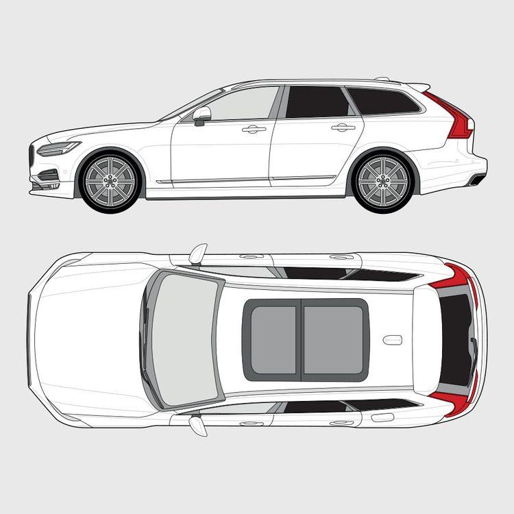 Volvo V90 2016-