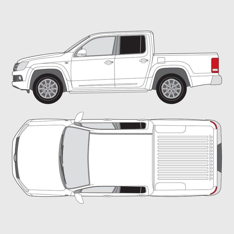 Volkswagen Amarok Double Cab 2010-2016