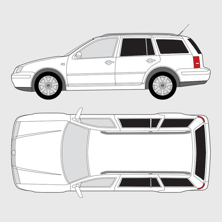 Volkswagen Bora kombi 1999-2004