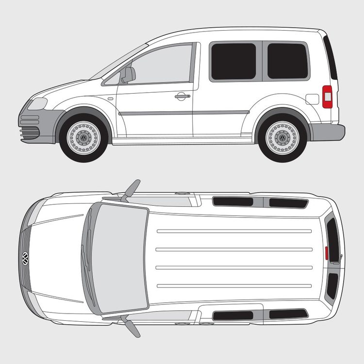 Volkswagen Caddy Life 2004-2010