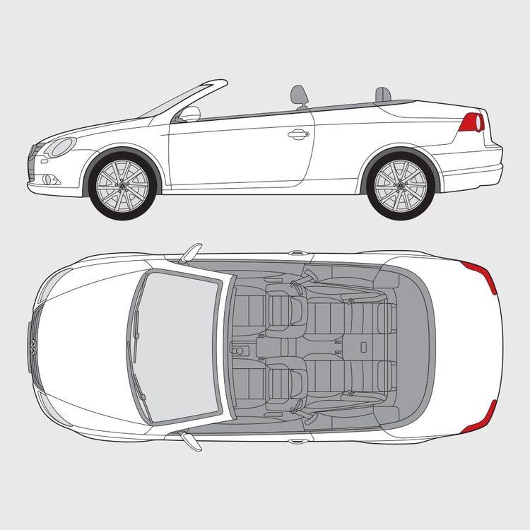 Volkswagen Eos 2006-2011