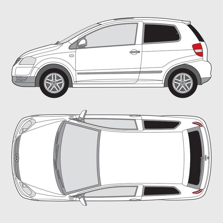 Volkswagen Fox 3-dörrar 2005-2009
