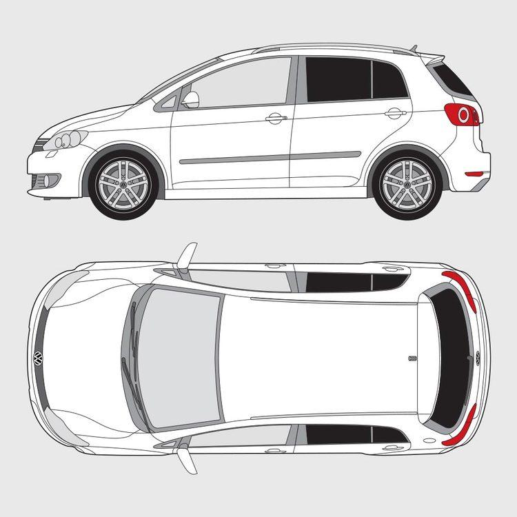 Volkswagen Golf Plus 2008-2013