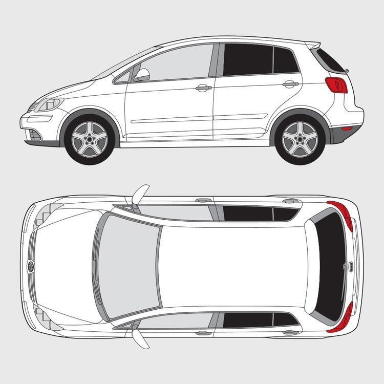 Volkswagen Golf Plus 2005-2008