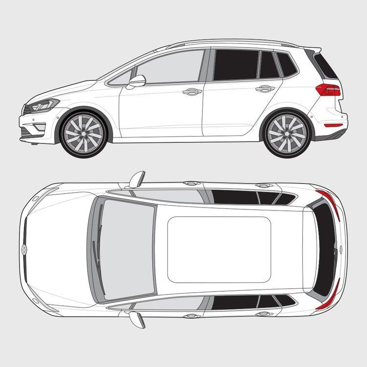 Volkswagen Golf Sportsvan 2014-2017