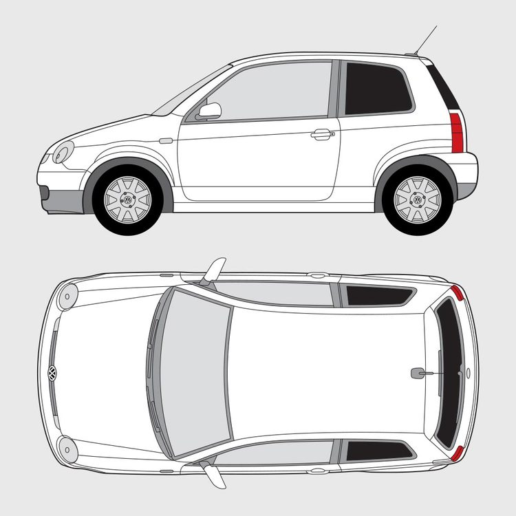 Volkswagen Lupo 3-dörrar 1998-2005