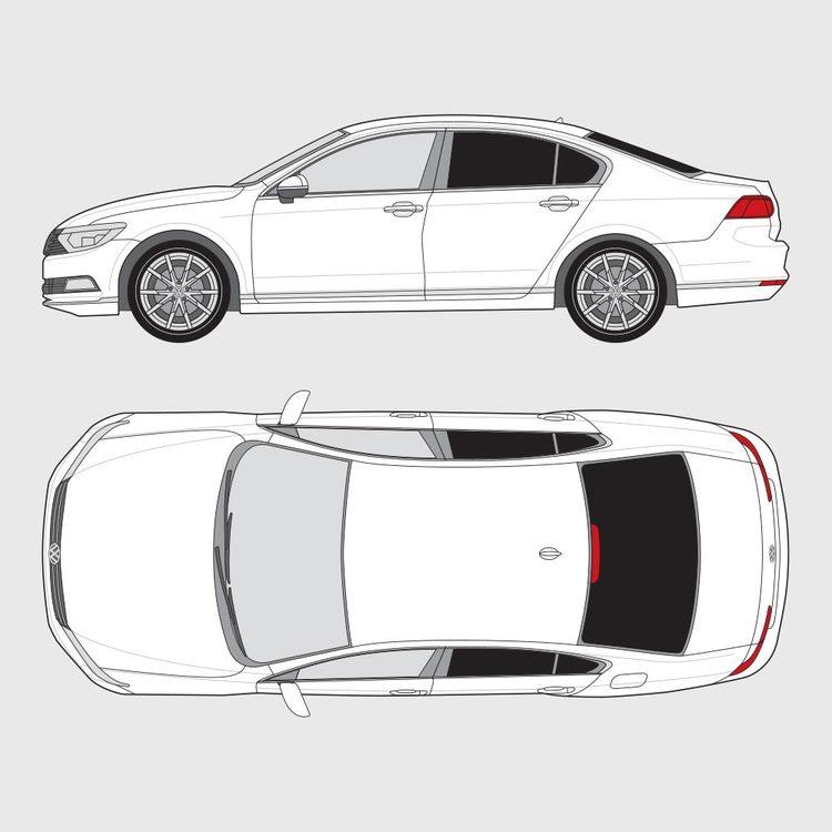 Volkswagen Passat 4-dörrar 2014-