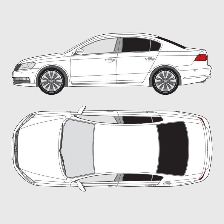 Volkswagen Passat 4-dörrar 2010-2014