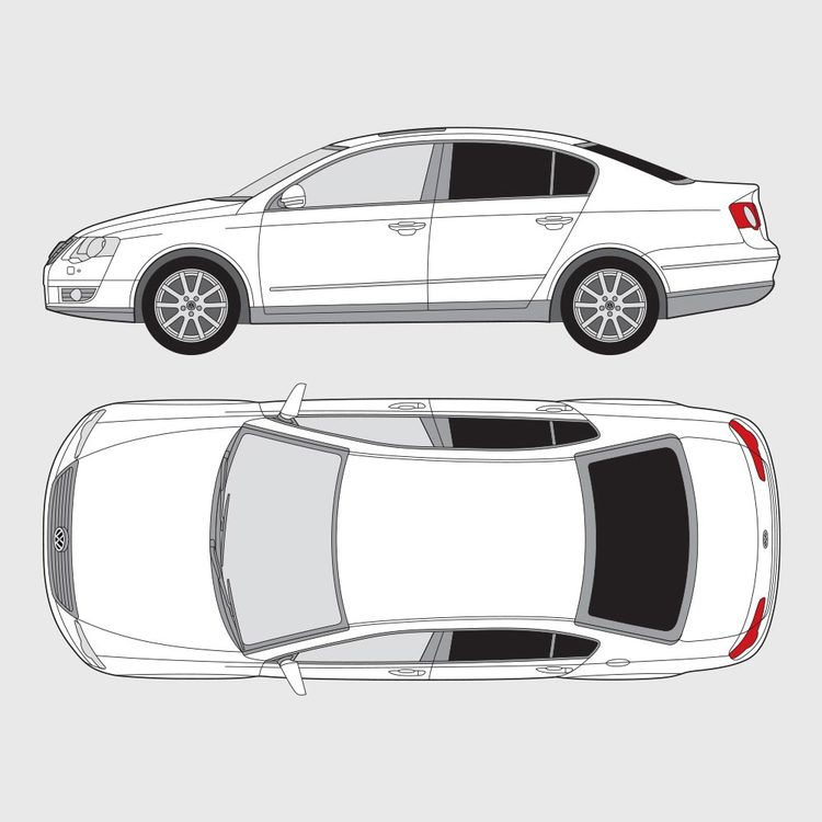 Volkswagen Passat 4-dörrar 2005-2010