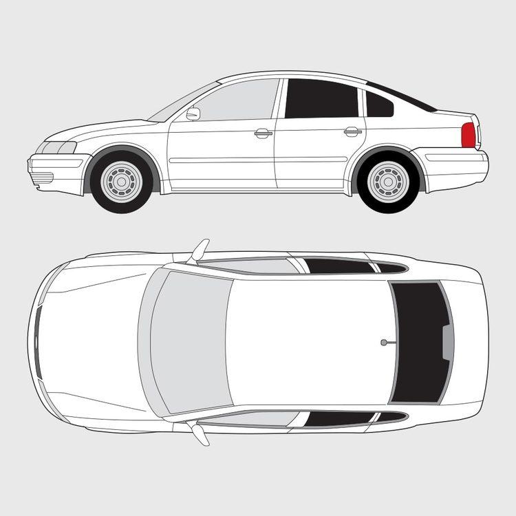 Volkswagen Passat 4-dörrar 1997-2000
