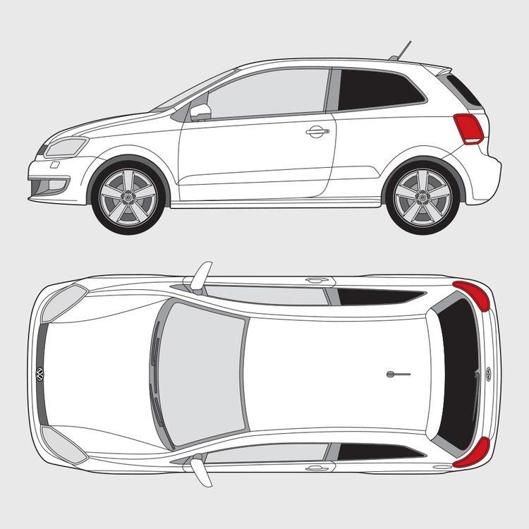 Volkswagen Polo 3-dörrar 2009-2014