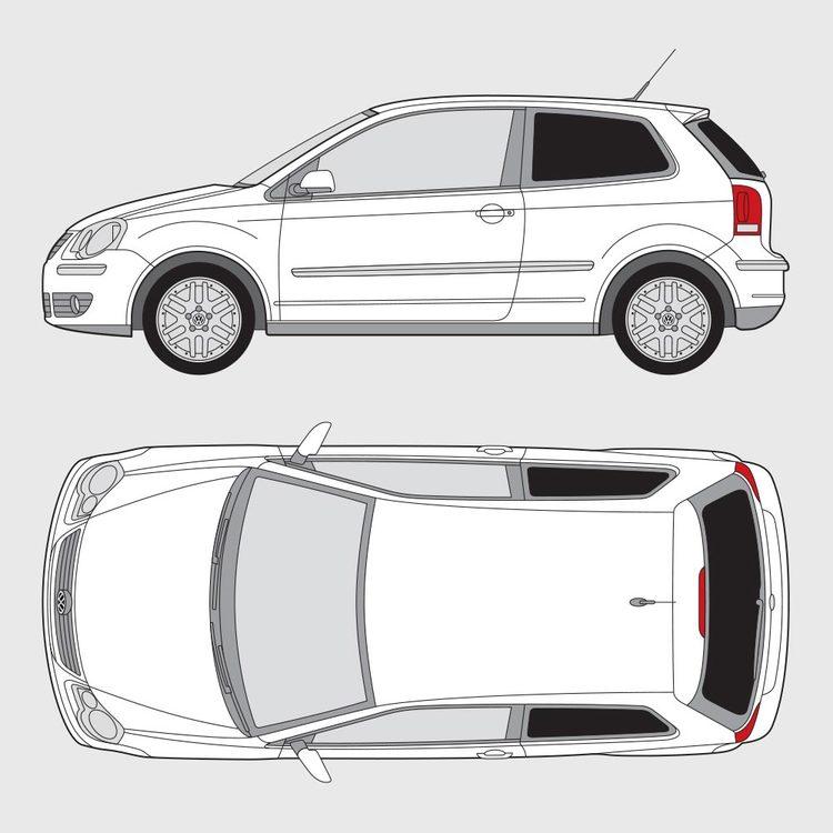 Volkswagen Polo 3-dörrar 2005-2009