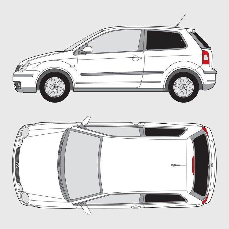 Volkswagen Polo 3-dörrar 2001-2005