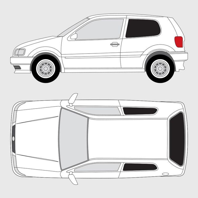 Volkswagen Polo 3-dörrar 1994-2001