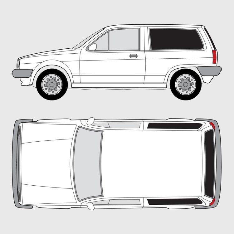 Volkswagen Polo 3-dörrar 1981-1994