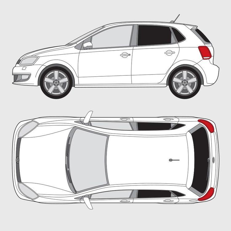 Volkswagen Polo 5-dörrar 2009-2014