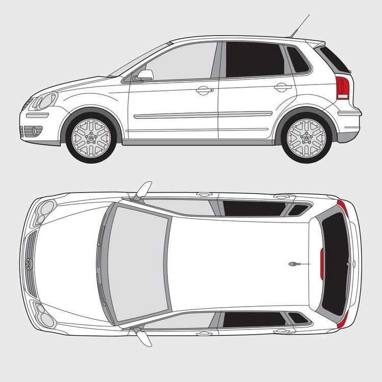 Volkswagen Polo 5-dörrar 2005-2008