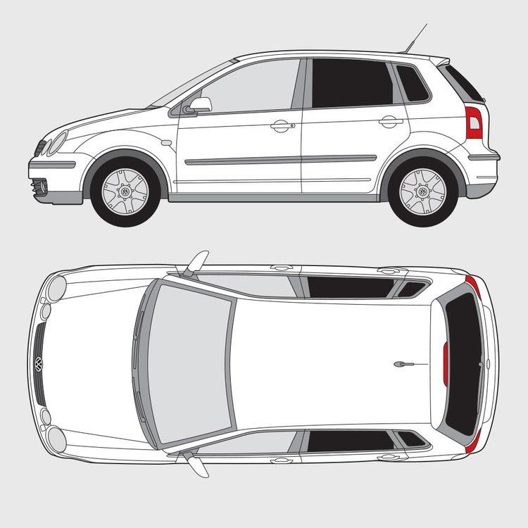 Volkswagen Polo 5-dörrar 2001-2005